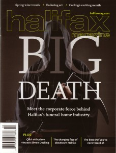 Halifax Magazine: Big Death
